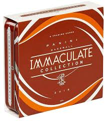 2019 Panini Immaculate Baseball 6 Box Case