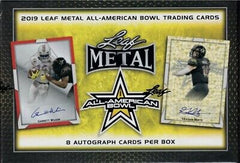 2019 Leaf Metal All American Football Box