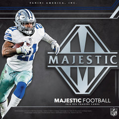 2019 Panini Majestic Football 6 Box Case