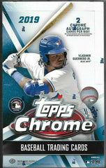 2019 Topps Chrome Hobby Baseball 12 Box Case