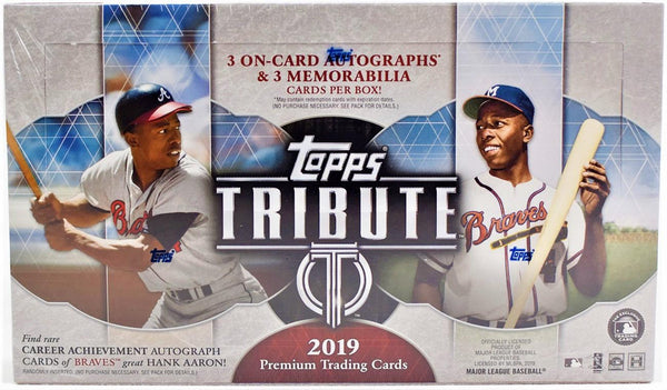 2019 Topps Tribute Baseball 6 Box Case