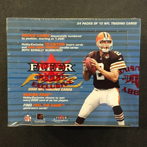 2000 Fleer Focus Football Hobby Box - All Star Case Breaks