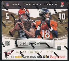2014 Panini Rookie & Stars Longevity Football Hobby Box