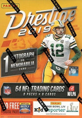 2019 Panini Prestige Football Blaster Box