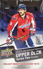 2015-16 Upper Deck Series 2 Hobby Hockey Box
