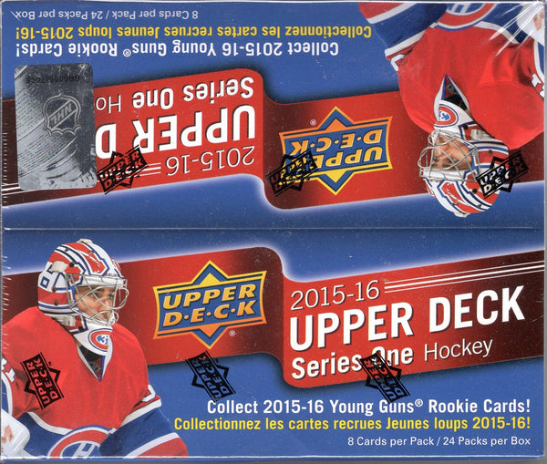 2015-2016 Upper Deck series 1 Retail Box - All Star Case Breaks