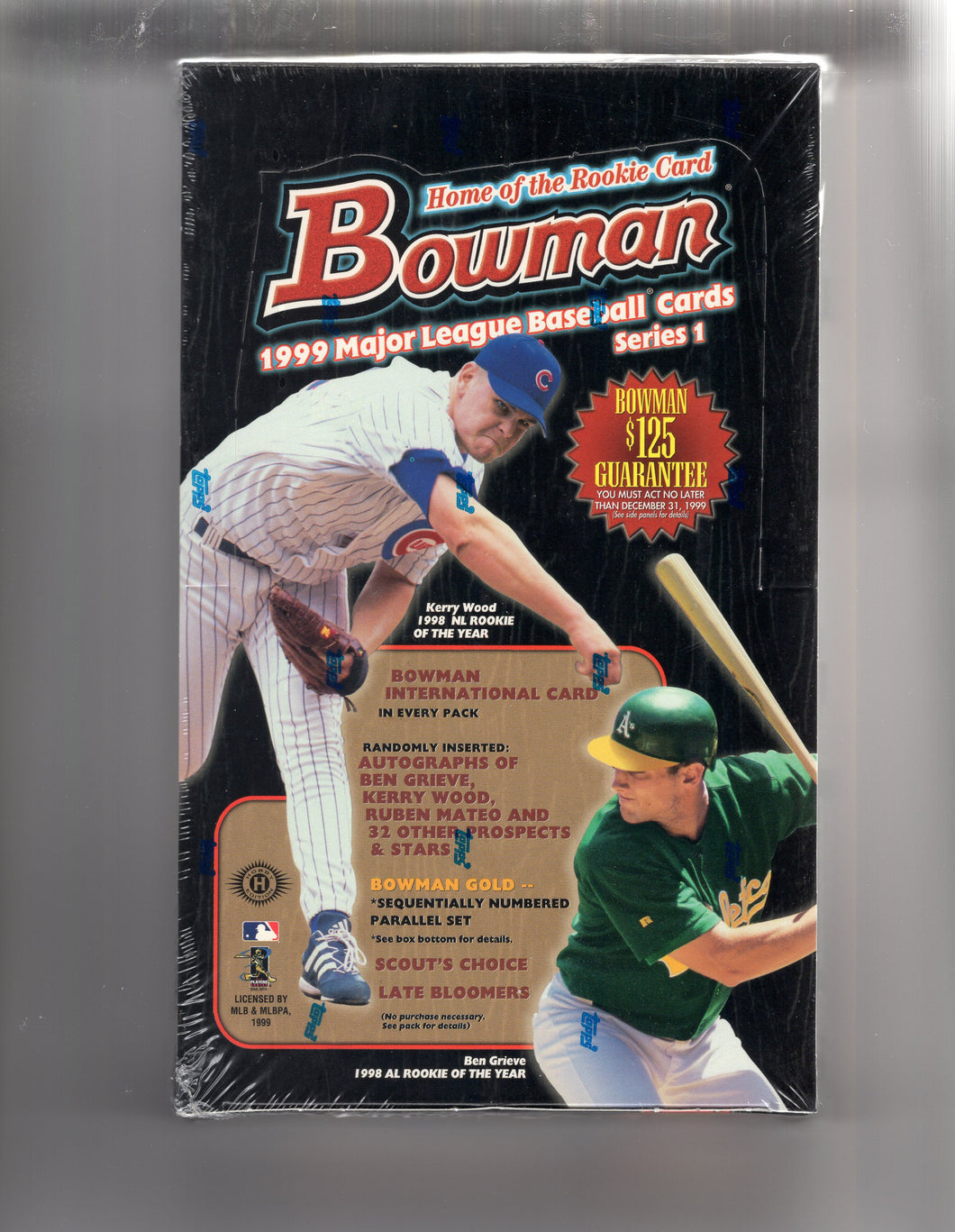 1999 Bowman baseball series 1 hobby box - All Star Case Breaks