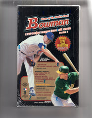 1999 Bowman Series 1 Baseball Hobby Box