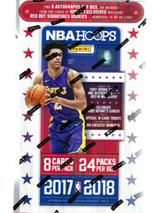 2017-2018 Hoops Basketball Hobby Box