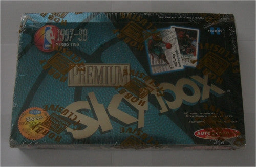 1997-1998 Skybox Premium Series 2 Basketball Hobby Box - All Star Case Breaks