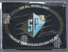 1996 Upper Deck SPX Football Hobby Box - All Star Case Breaks