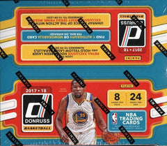 2017-18 Panini Donruss Retail Basketball Box