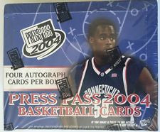 2004 Press Pass basketball hobby box
