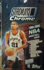 1999-2000 Topps Stadium Club Chrome Basketball Hobby Box - All Star Case Breaks