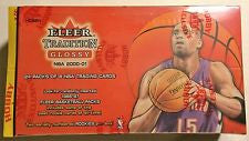 2000-2001 Fleer Tradition Basketball Hobby Box