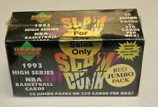 1993 Upper Deck Slam Dunk High Series Hobby box
