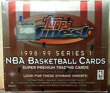 1998-99 Topps Finest Series 1 Hobby Box