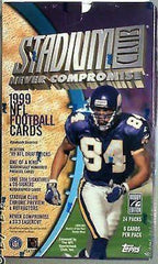 1999 Stadium Club Football hobby box