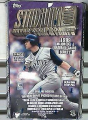 1999 Topps Stadium Club Baseball Hobby Box