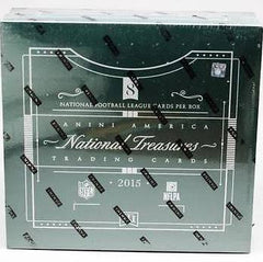 2015 National Treasures Football 4 Box Case