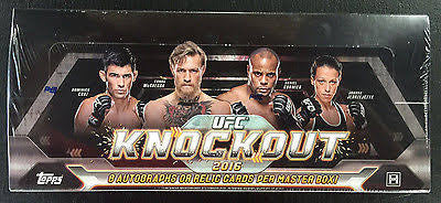 2016 Topps UFC Knockout Box - All Star Case Breaks