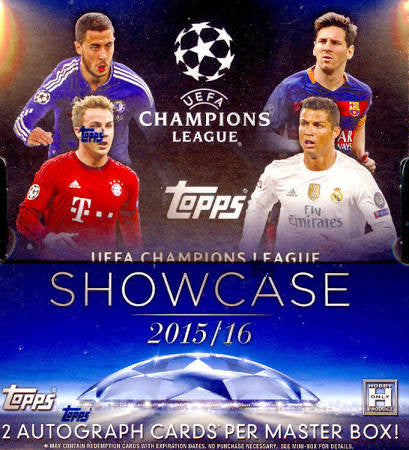 2015-2016 Topps UEAFA Champions League Showcase Soccer - All Star Case Breaks