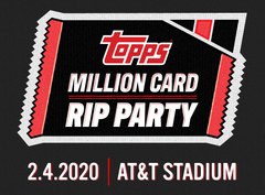 The Topps Million Card Rip Party - 2020 Topps Series 1 Baseball Jumbo - 3 Case Break | Pick Your Team #2