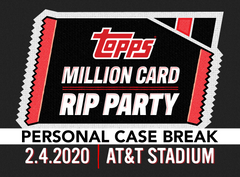 The Topps Million Card Rip Party – 2020 Topps Series 1 Baseball Jumbo HTA 6 Box Case