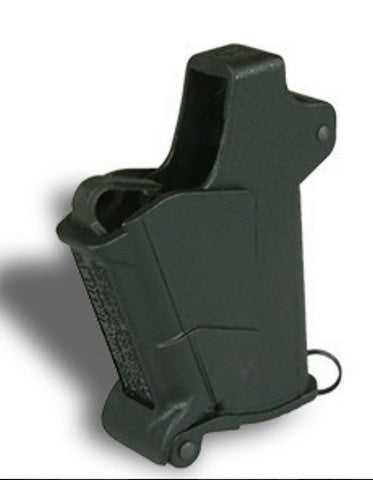 BabyUpLULA® – .22LR to .380ACP* loader for single-stack pistol mags without a projecting side button