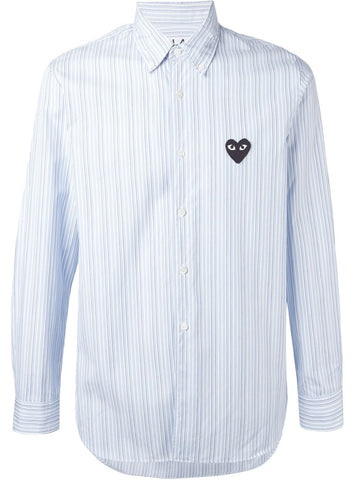 Striped Woven Shirt | P1B010