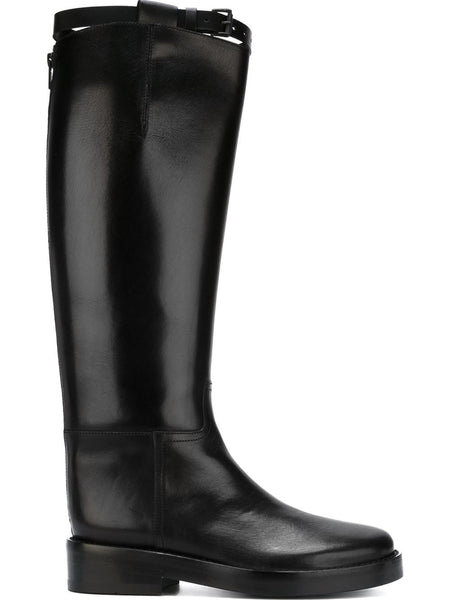 Calf-High Leather Boot | 1613-2824-375