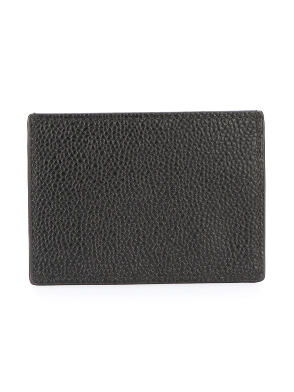 Small Pebble Grain Cardholder | MAW020L-00198-001