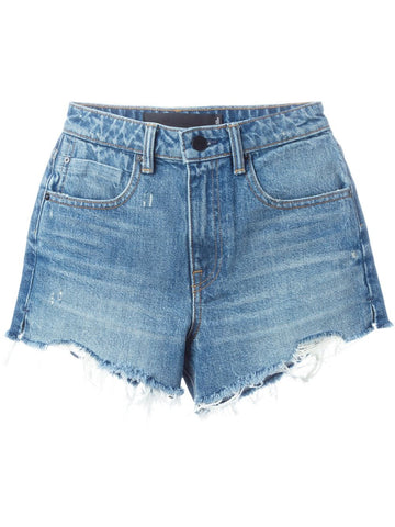 Cut-Off Denim Shorts | 413808 BITE LIGHT INDIGO AGED