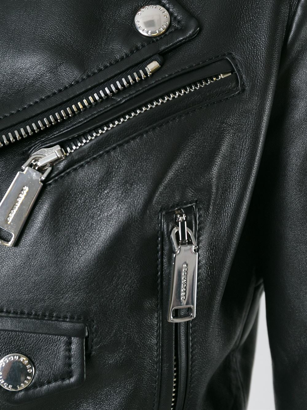 Leather Motorcycle Jacket | S72AM0444 SX8131
