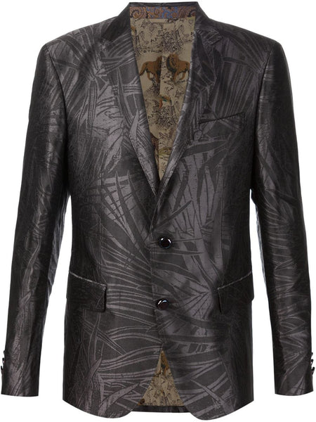 Silk Tropical-Jacquard Blazer | 10835 8117