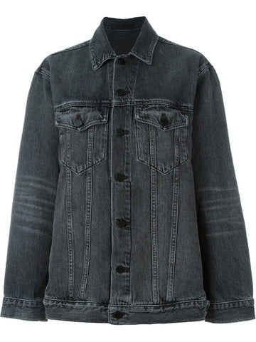Aged Denim Jacket | 4D992043AC