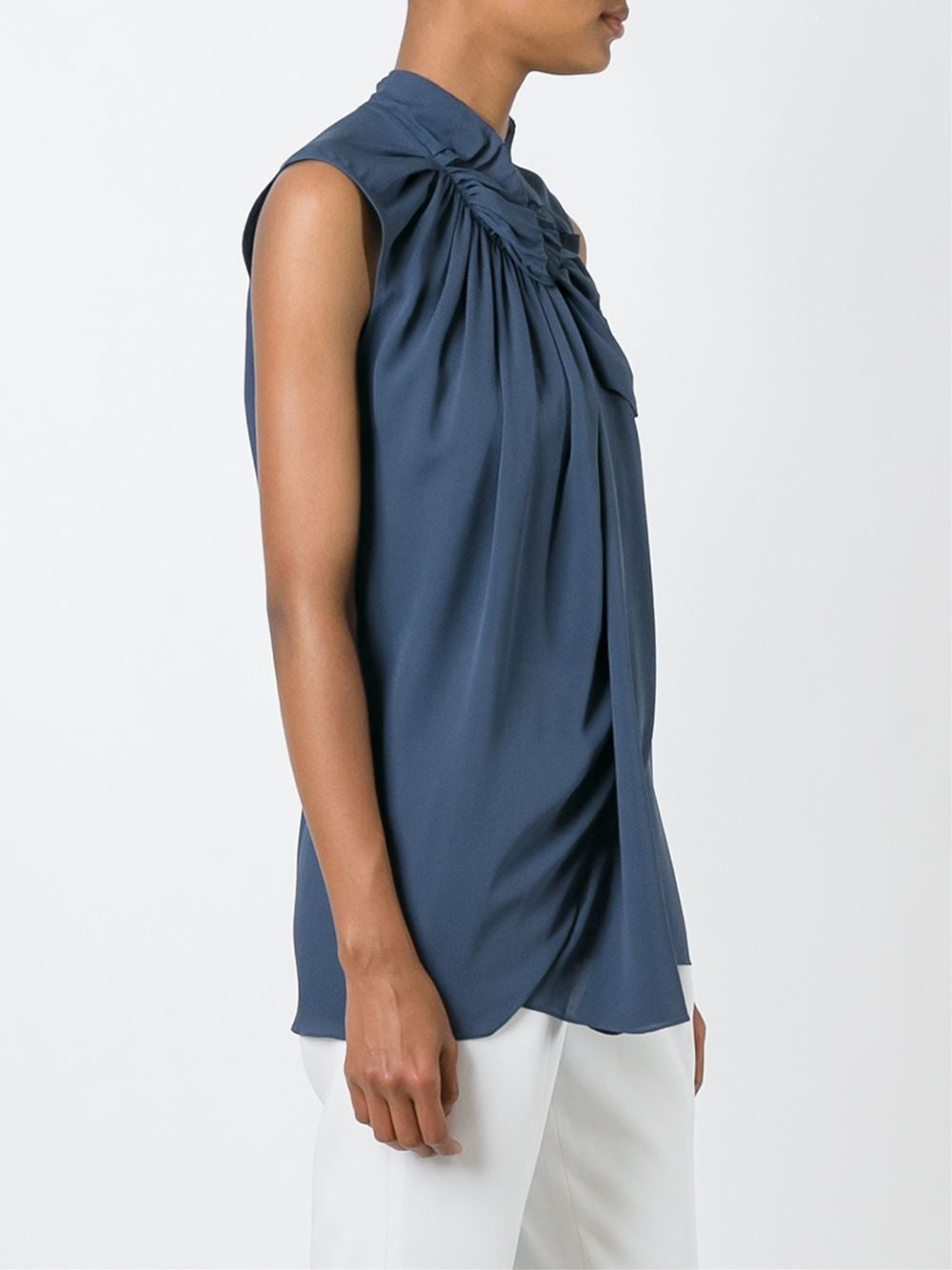 Sleeveless Silk Top | PS16-2814CEE