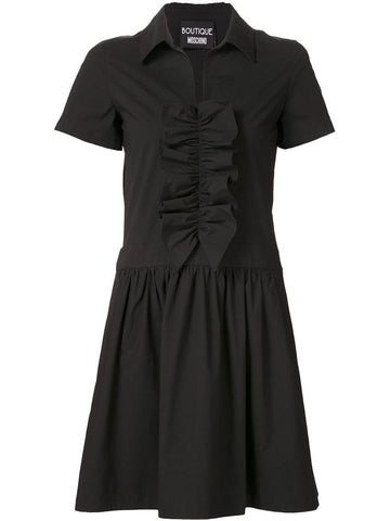 Ruffled Shirt-Dress | 0434 0835