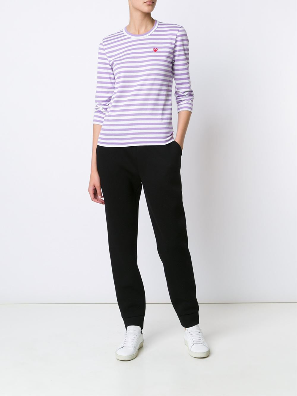 Striped Knit Pullover | AZ-T217-051