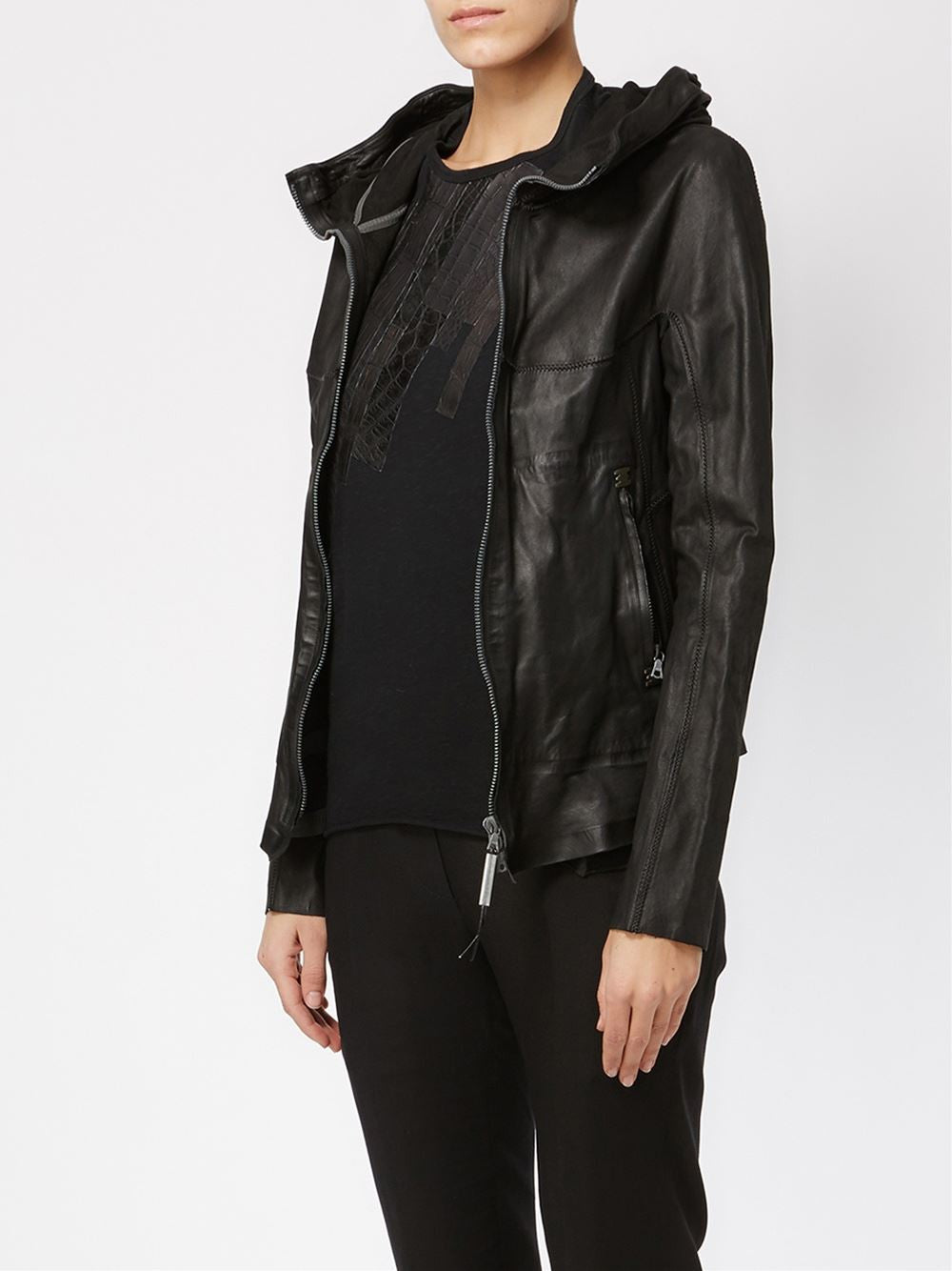 'Clandestine' Leather Jacket | CLANDESTINE