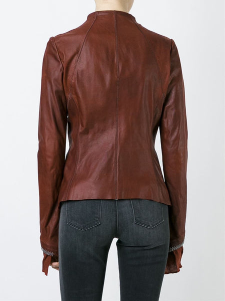 'Tenace' Leather Jacket | TENACE