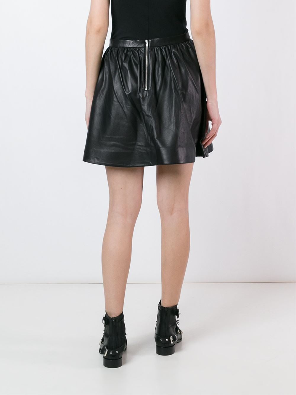 Lamb Leather Skirt | GLODY 16SWP31