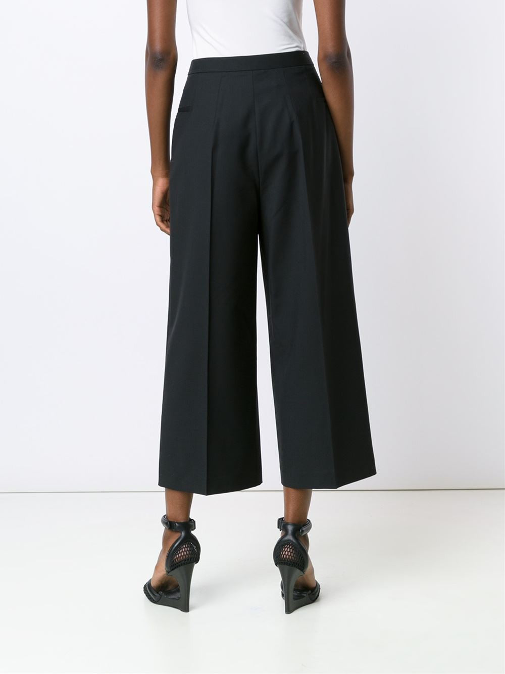 Relaxed Cropped Trouser | 103561S16