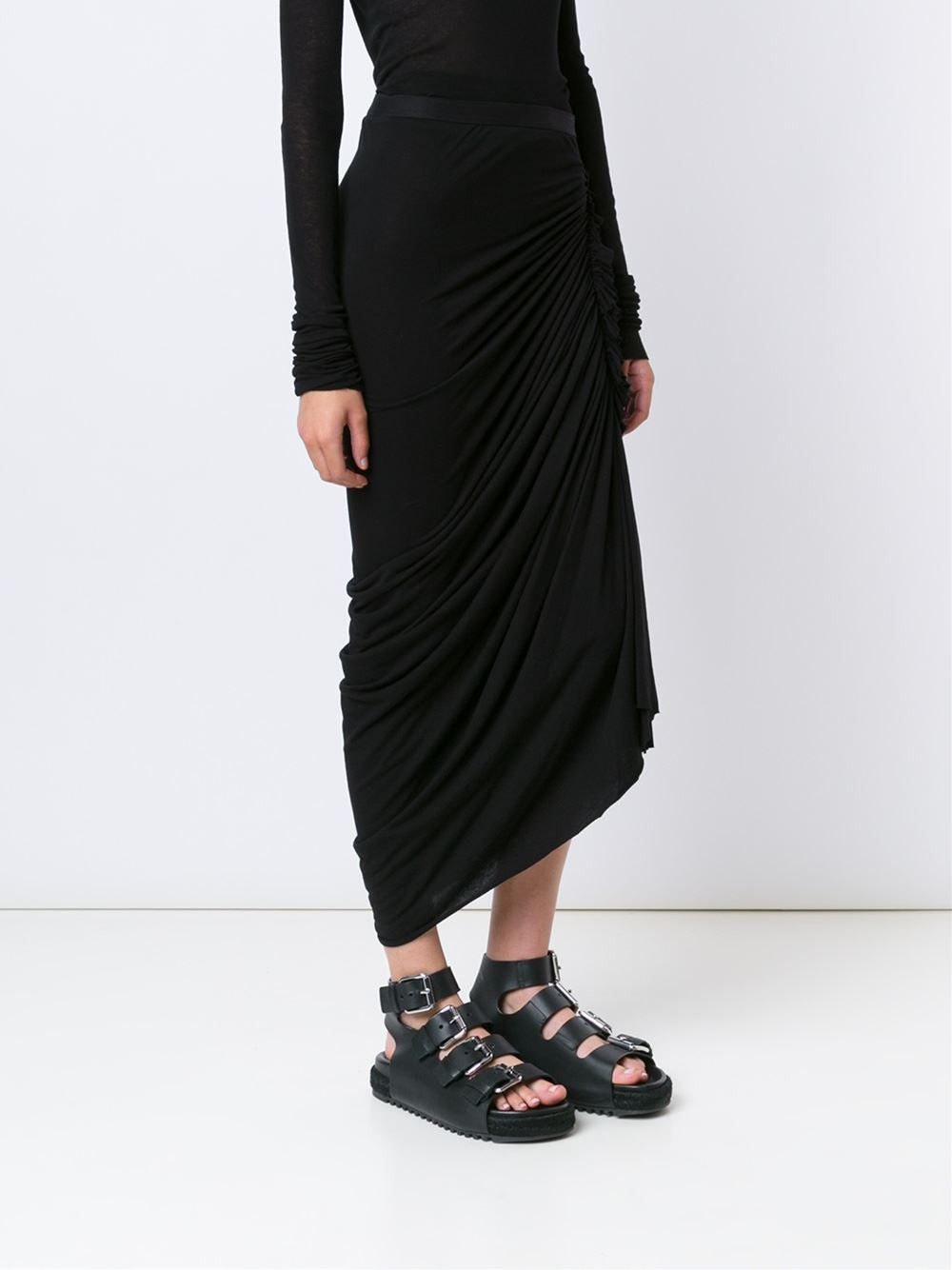 Draped Skirt | LI16S2313 GONNA ENEW