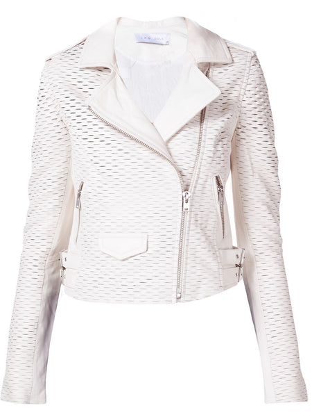 Perforated Motorcycle Jacket | 16SWM09MEMPHIS