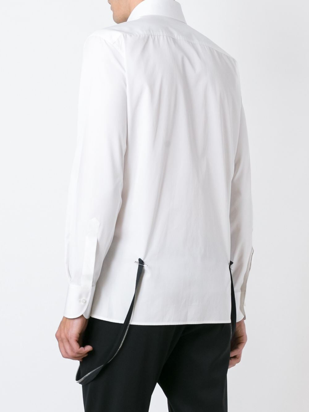 Poplin Zipper Shirt | S74DL0946-S36275