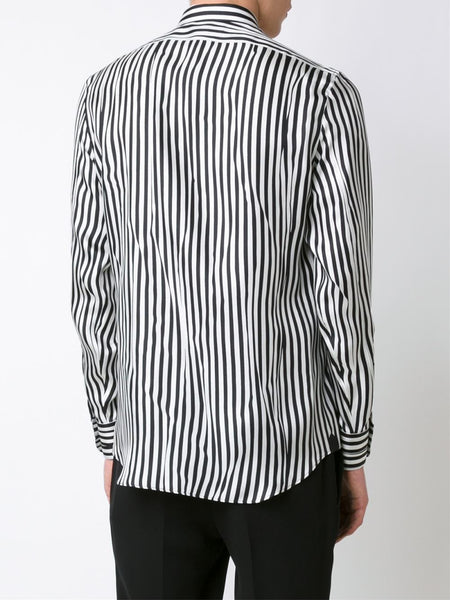 Striped Silk Shirt | 430136QHO03