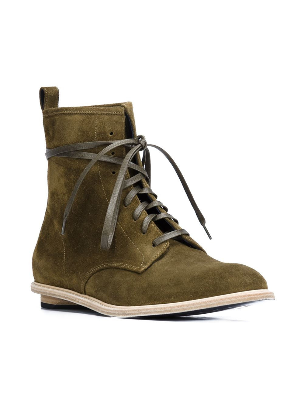 Reverse Leather 'Rebel' Boot | VSRO003 REBEL HIGH