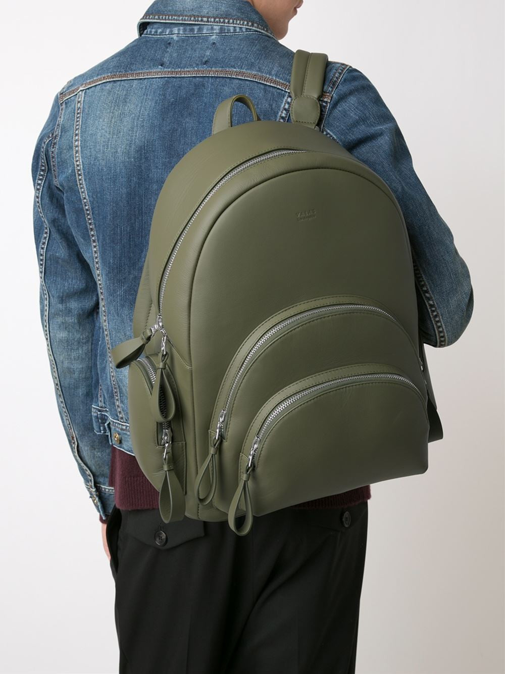 Leather 'Rockefeller' Backpack | VLSRO001 ROCKEFELLER
