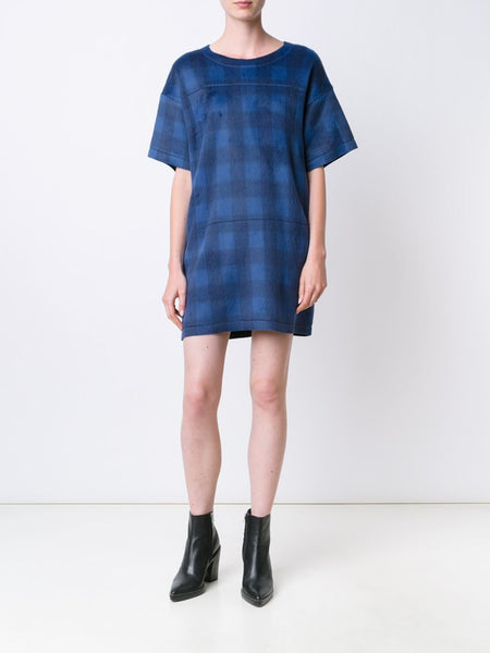 Plaid Mini-Dress | S52CT0167 S22798